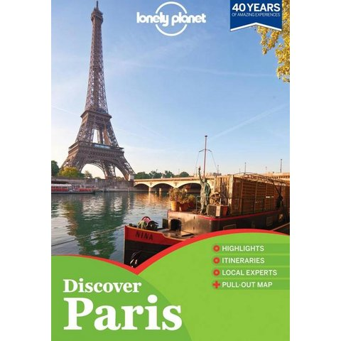 Lonely Planet Discover Paris 2017 4th Ed.