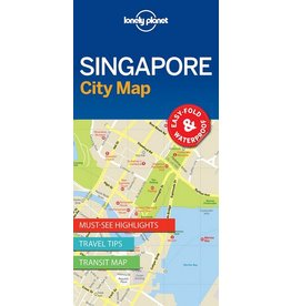 Lonely Planet Lonely Planet Singapore City Map