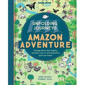 Lonely Planet Lonely Planet Kids Unfolding Journeys Amazon Adventure