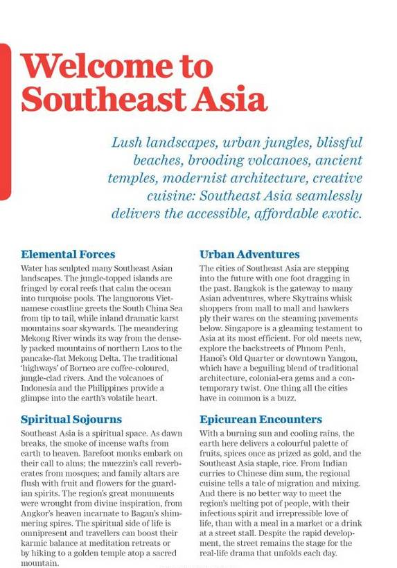 Lonely Planet Southeast Asia on a shoestring 18th Ed