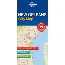 Lonely Planet Lonely Planet New Orleans City Map