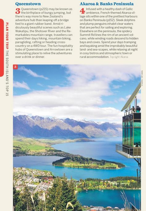 Lonely Planet Lonely Planet New Zealand's South Island