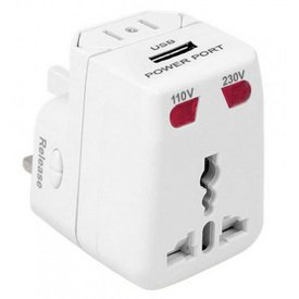 TRAVELON Travelon Universal Adapter & USB Charger