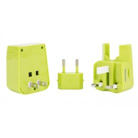 TRAVELON Travelon Universal Adapter & Twin USB Charger