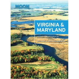 Moon Moon Virginia & Maryland - 2nd Ed