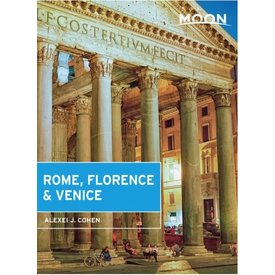 Moon Moon Rome, Florence, Venice - 1st Ed