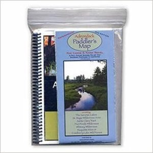 North Country Books, Inc. Adirondack Paddler's Guide Third Ed. and Paddler's Map 8th Ed.
