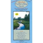 North Country Books Inc. Adirondack Paddler's Map North