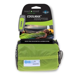 Sea to Summit Coolmax  ADAPTOR Liner with Insect Shield*