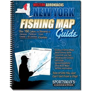 Sportsman Connection Western Adirondacks Fishing Map & Guide
