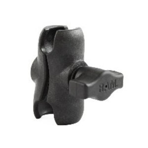 "Yak Attack RAM 1"" Short Composite Double Socket Arm"