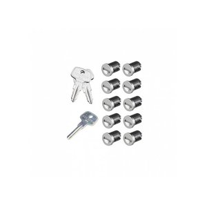 SKS Lock Cores - 10 Pack
