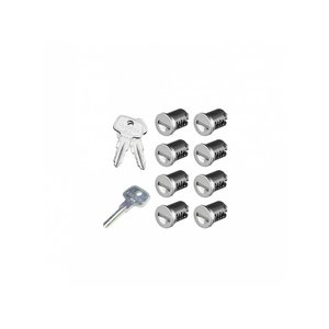 SKS Lock Cores - 8 Pack