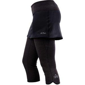 NRS Ws Hydroskin .5 Capri w/ Skirt
