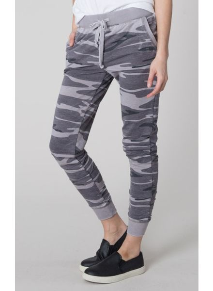 Z SUPPLY Black Camo Pant-Medium