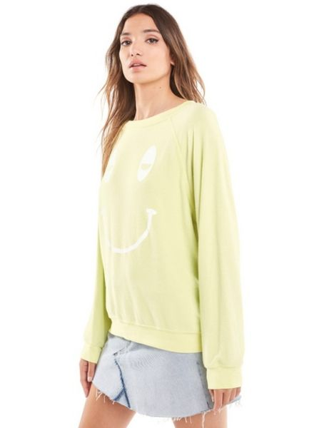 Wildfox Sleepy Smiley Sommers Sweater