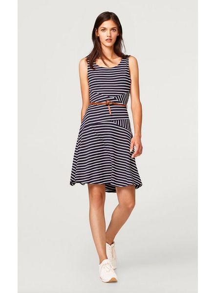 EDC Striped Dress With Belt