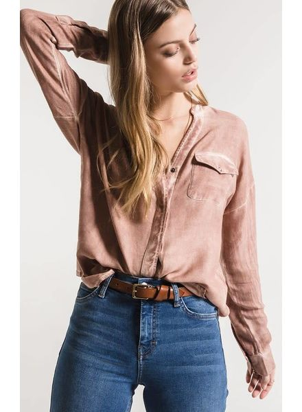 White Crow Tempe Button-Up Top