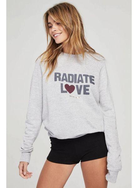 Spiritual Gangster Radiate Love Crew Sweatshirt