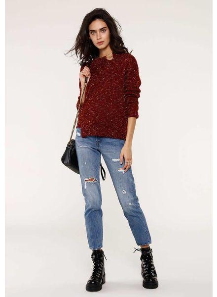 Heartloom Aria Distressed Sweater