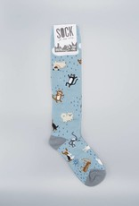 Raining Cats and Dogs Knee Sock from Sock it to Me