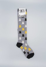 Winking Cat Knee Sock from Sock it to Me