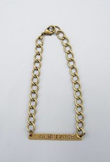 Herbivore Bar Bracelet by Mishakaudi Jewelry