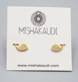 Mishakaudi Whale Earring