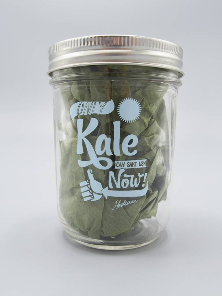 Only Kale Can Save Us Now Mason Jar