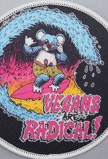 Vegans are Radical Iron-On Patch