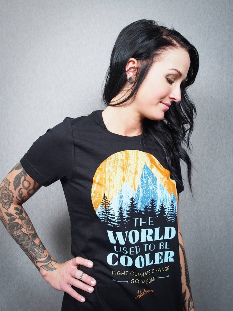 The World Used To Be Cooler Women's Tee (XL ONLY)