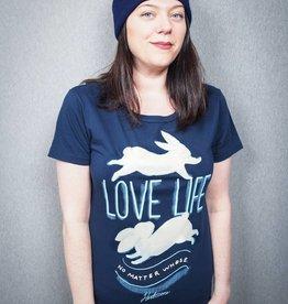 Love Life (No Matter Whose) Cotton Women's Tee