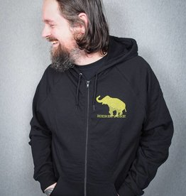 Good Luck Elephant Zip-Up Unisex Hoodie