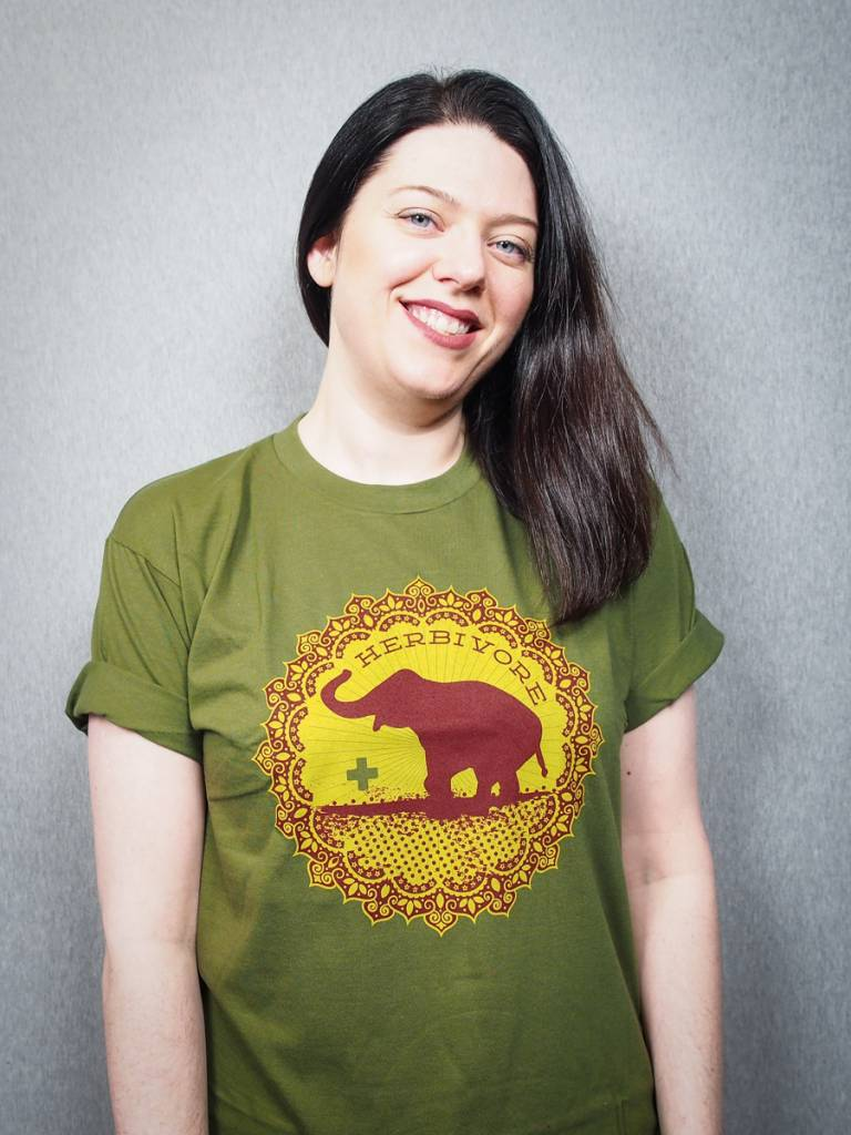 Good Luck Elephant Green Unisex Tee
