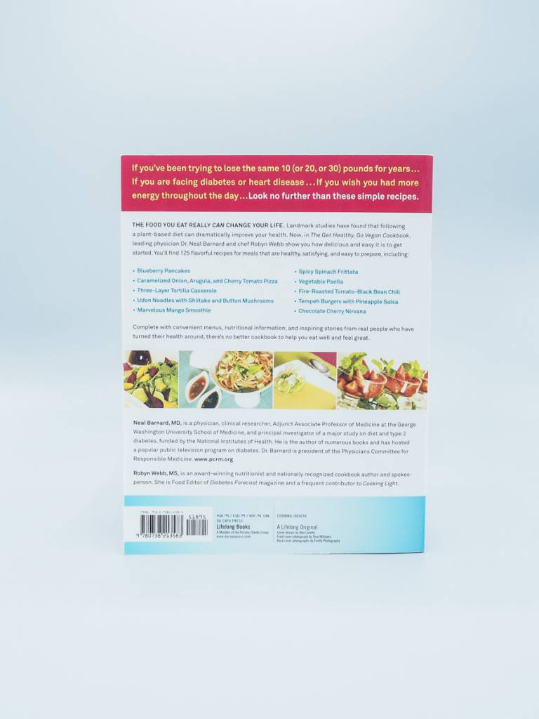 The Get Healthy, Go Vegan Cookbook by Dr. Neal Barnard