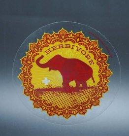 Good Luck Elephant Window Cling