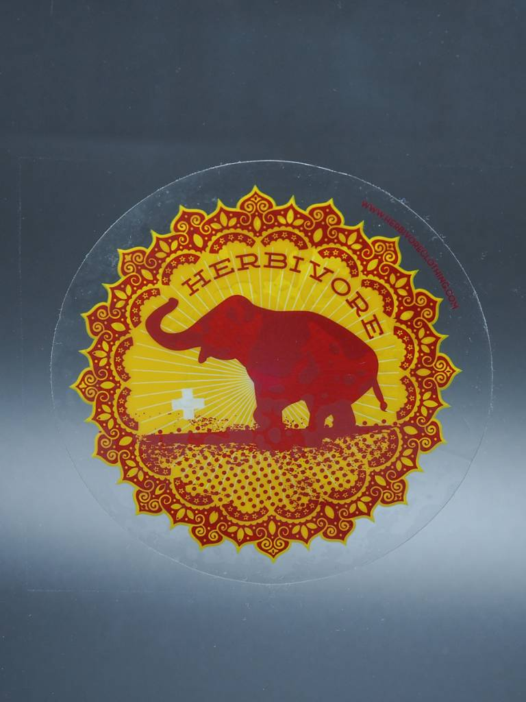 Good Luck Elephant Window Cling