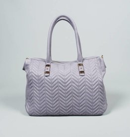 Follow Me Chevron Convertible Bag