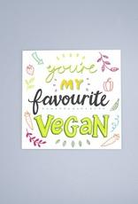 Favourite Vegan Card