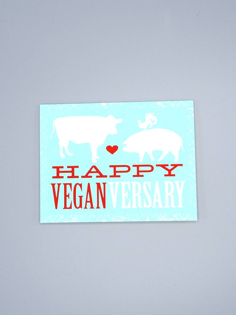 Happy Veganversary Card