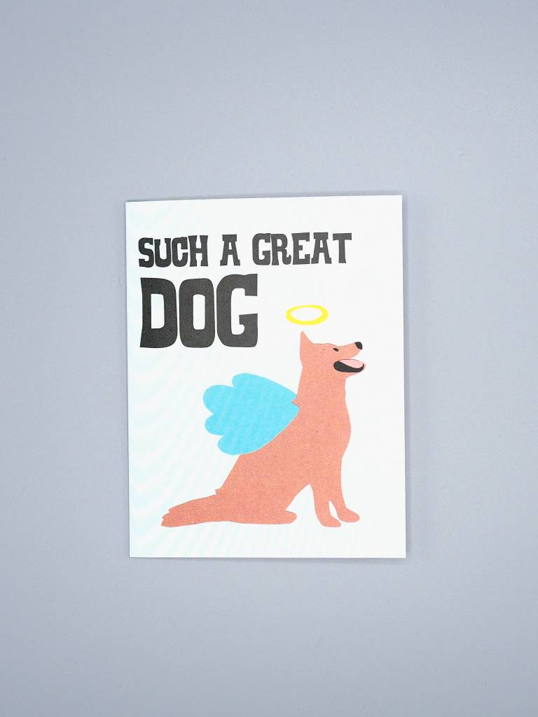 Such a Great Dog Card