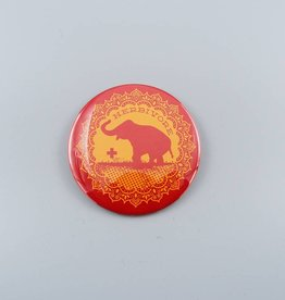 "Good Luck Elephant 3"" Magnet"