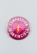 "Compassion is Invincible 3"" Magnet"