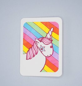 Unicorn Rainbow Card