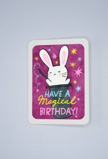 Have a Magical Birthday Bunny Card