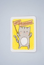 Happy Purrthday Card