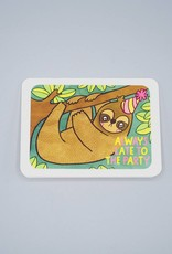 Always Late to the Party Sloth Card