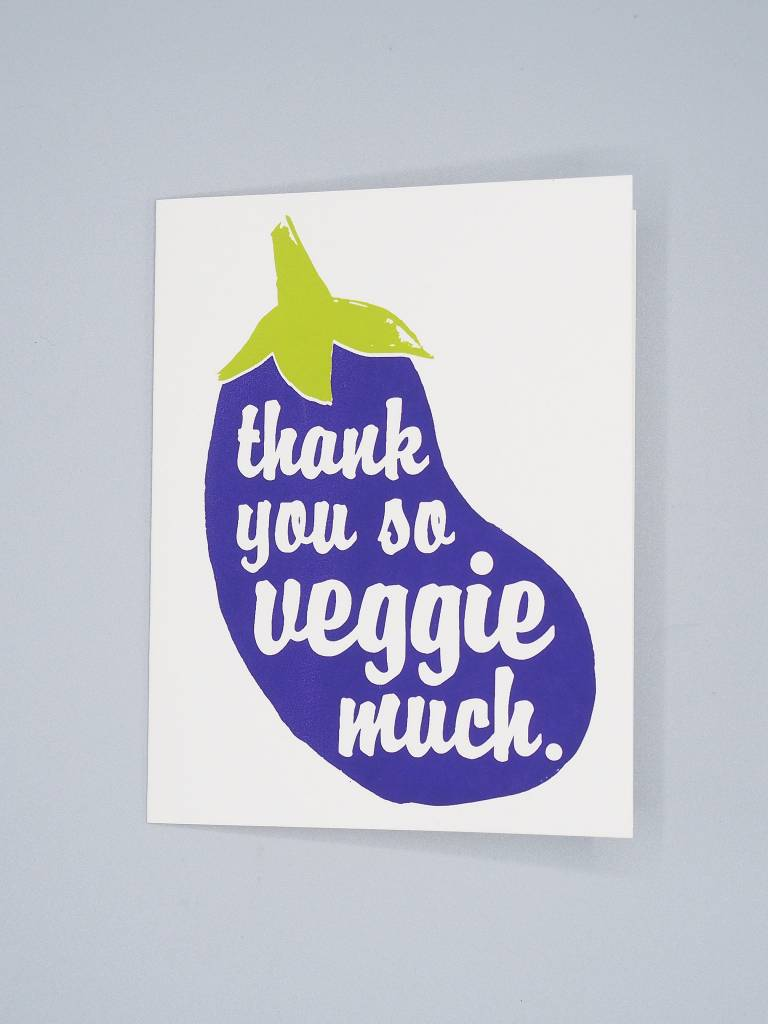 Thank You So Veggie Much Card