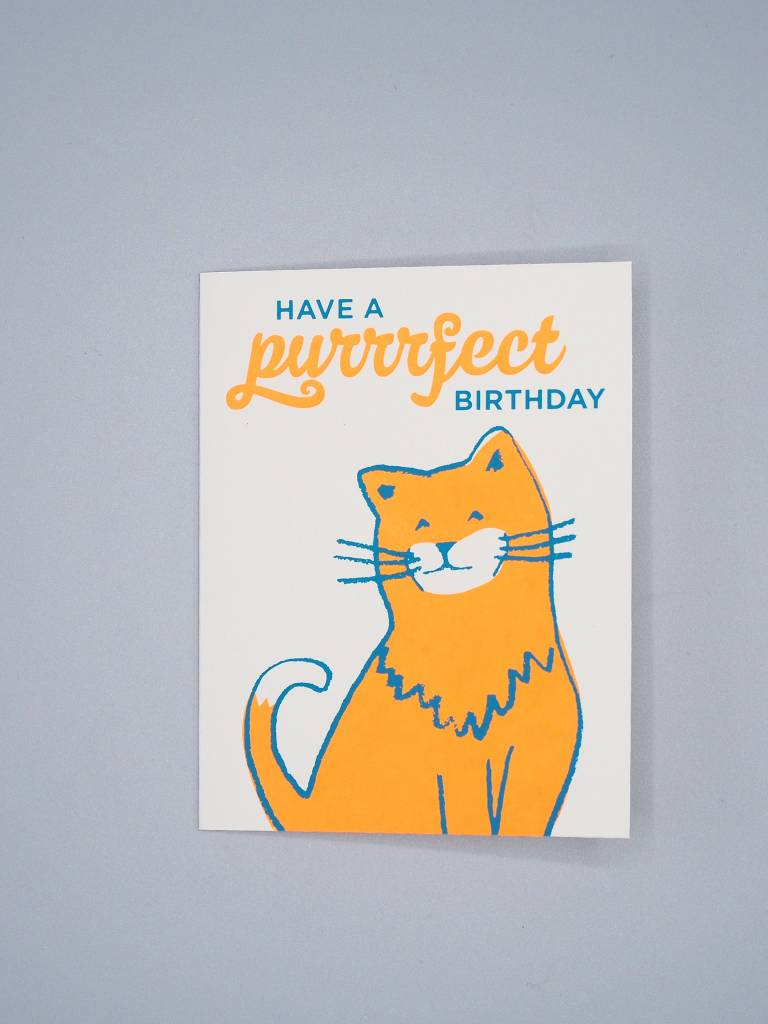 Have a Purrfect Birthday Card