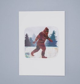 Sasquatch Card